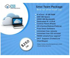 cloud smtp server